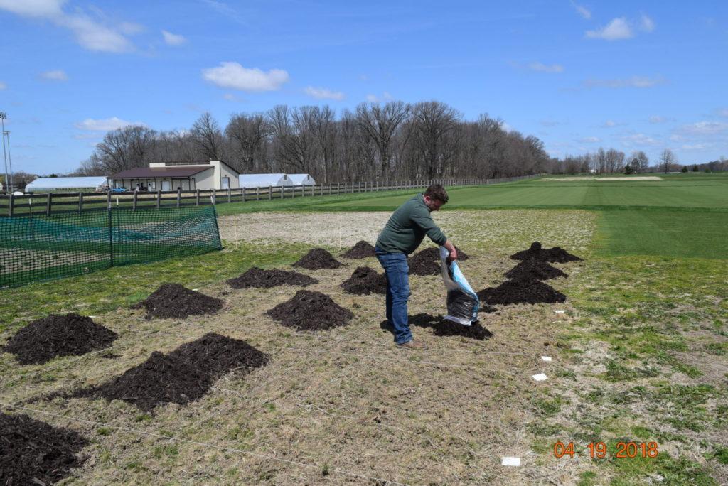 mulch herbicide research